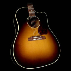 Used 2016 Gibson Montana J-45 Standard Dreadnought Acoustic-Electric Guitar Vintage Sunburst