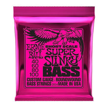 Ernie Ball Short Scale Slinky Bass Guitar Strings (40-100)