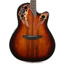 Ovation Celebrity Elite Plus CE48P Acoustic Guitar Koa Burst