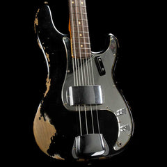 Fender Custom Shop '60s Precision Bass Black Heavy Relic