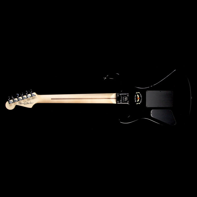 Used Charvel Warren DeMartini USA Signature Frenchie Electric Guitar Black C10796