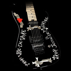 Charvel Warren DeMartini USA Signature Frenchie Electric Guitar Black
