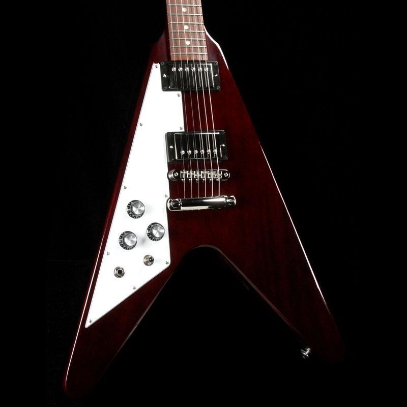 gibson flying v 2018 left handed aged cherry the music zoo. Black Bedroom Furniture Sets. Home Design Ideas