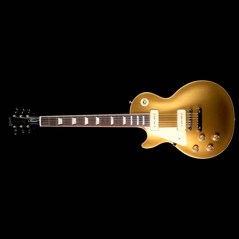 Gibson 2018 Les Paul Classic Left-Handed Electric Guitar Goldtop 180025770
