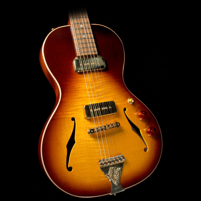 B&G Guitars Little Sister Crossroads Electric Guitar Tobacco Burst CR170760027