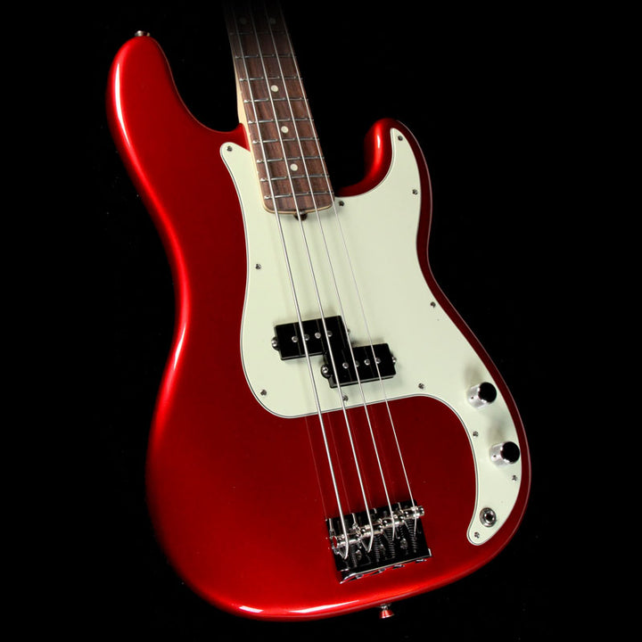 Fender American Professional Precision Bass Electric Bass Candy Apple Red 0193610709