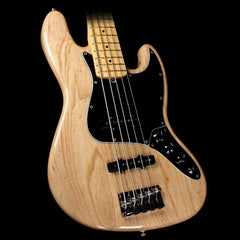 Fender American Pro Jazz Bass V 5-String Electric Bass Natural