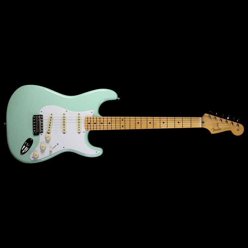 Fender Classic Series '50s Stratocaster Electric Guitar Surf Green 0131002357