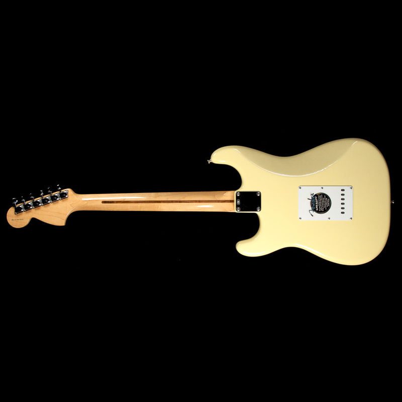 Used 2003 Fender Artist Series Yngwie Malmsteen Stratocaster Electric Guitar Vintage White SZ3041833