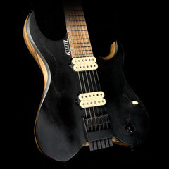 Used Kiesel Custom Shop Vader 6 Electric Guitar Satin Black