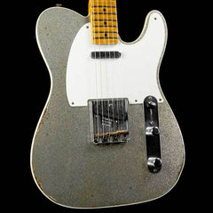 Fender Custom Shop Limited Edition Double Esquire Special Silver Sparkle