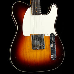 Fender Custom Shop '59 Esquire Custom Journeyman Relic Chocolate 3-Color Sunburst