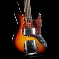 Fender Custom Shop 1960 Jazz Bass Journeyman Relic Faded 3-Color Sunburst