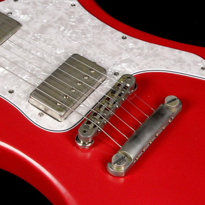 Dunable R2 Electric Guitar Satin Dakota Red with Pearloid Pickguard R2 Red/Pearloid