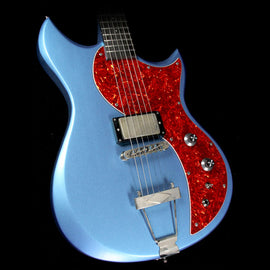Dunable Cyclops Electric Guitar Pelham Blue and Tortoise Shell Pickguard