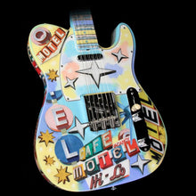 Fender Custom Masterbuilt Greg Fessler Googie Artwork Telecaster Electric Guitar