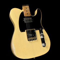 Used 2007 Fender Custom Shop Masterbuilt John Cruz '51 Humbucker Nocaster Relic Electric Guitar Nocaster Blonde