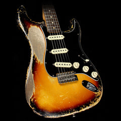 Used 2017 Fender Custom Shop Masterbuilt Dale Wilson 1963 Stratocaster Relic Electric Guitar 3-Tone Sunburst