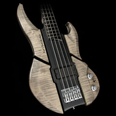 Eye's Bass EBG-3 Mercury 4 Aluminum Body Electric Bass Transparent Ebony
