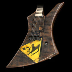 Used Jackson Custom Shop Kelly Electric Guitar Tetanus Artwork by Brian Bock