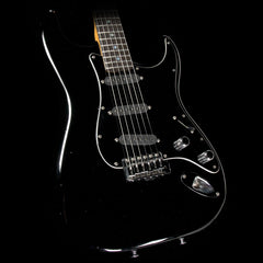 Used '80s Schecter USA S-Style Electric Guitar Black