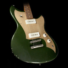 Used Novo by Dennis Fano	Serus J Electric Guitar Distressed Green