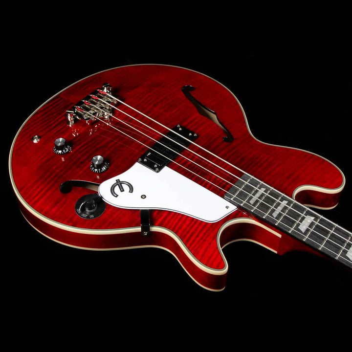 Epiphone  Limited Edition 20th Anniversary Jack Casady Signature Bass Wine Red EBJCWRNH3