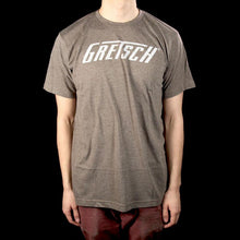 Gretsch Logo T-Shirt Heather Gray