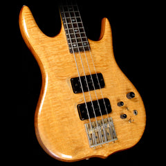 Used 1985 Ken Smith BT4 Dovetail Electric Bass Guitar Natural