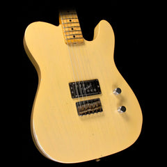 Used 2014 Fender Limited Edition Custom Shop Esquire Relic Electric Guitar Butterscotch Blonde