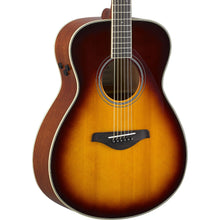 Yamaha FS-TA Transacoustic Brown Sunburst Acoustic Guitar