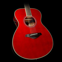 Yamaha FS-TA Transacoustic Vintage Tint Acoustic-Electric Ruby Red