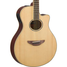 Yamaha APX600 Acoustic-Electric Guitar Natural