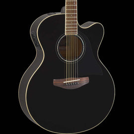 Yamaha CPX600 Acoustic-Electric Guitar Black