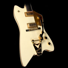 Used 2008 Gretsch Limited Edition Billy Bo Jupiter Electric Guitar White Penguin