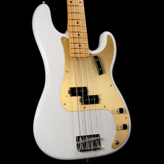 Fender American Original '50s Precision Bass Guitar White Blonde