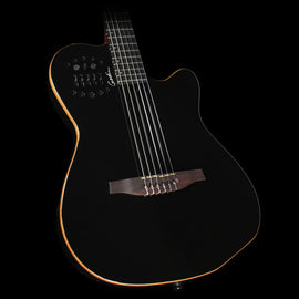 Godin ACS-SA Slim Nylon Electric Guitar Black Pearl