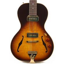 B&G Guitars Little Sister Crossroads P-90 Tobacco Burst