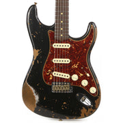 Fender Custom Shop 1962 Roasted Alder Stratocaster Heavy Relic Black