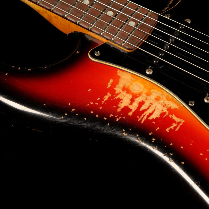 Fender Custom Shop 70's Stratocaster Masterbuilt Paul Waller 3-Tone Sunburst Heavy Relic PW453