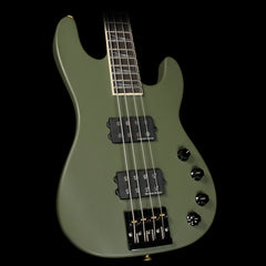 Jackson Custom Shop Concert Bass Masterbuilt Mike Shannon Army Drab Green