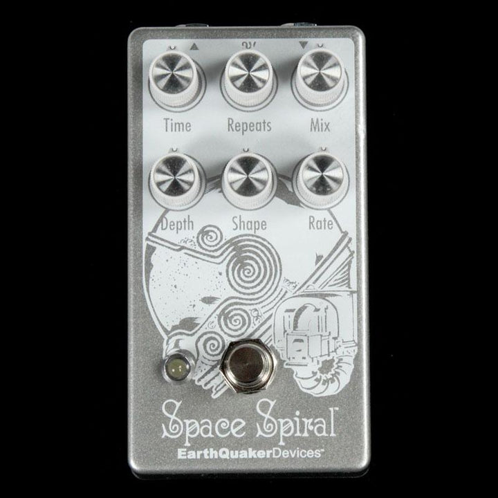 Open-Box EarthQuaker Space Spiral V2 Delay/Echo Effects Pedal