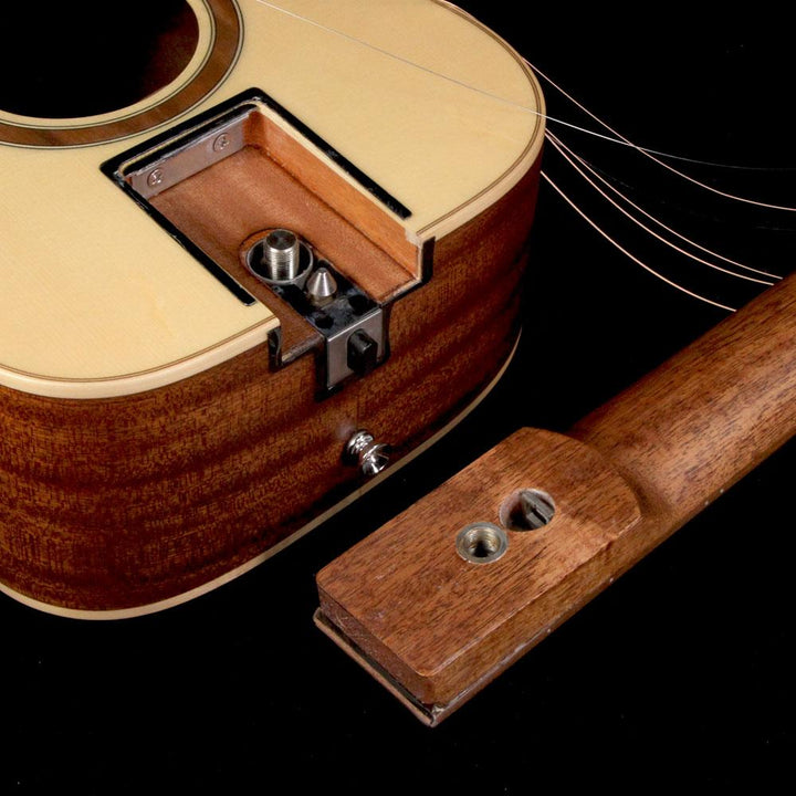 Journey Instruments OF410N Narrow Nut Sapele Acoustic Guitar Natural Satin OF410N