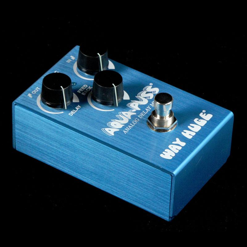Way Huge Smalls Aqua Puss Analog Delay Pedal WM71