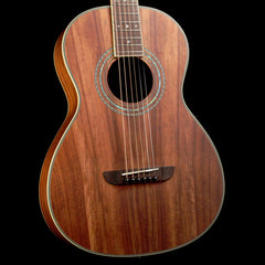 Washburn WP55NS Koa Parlor Guitar Natural