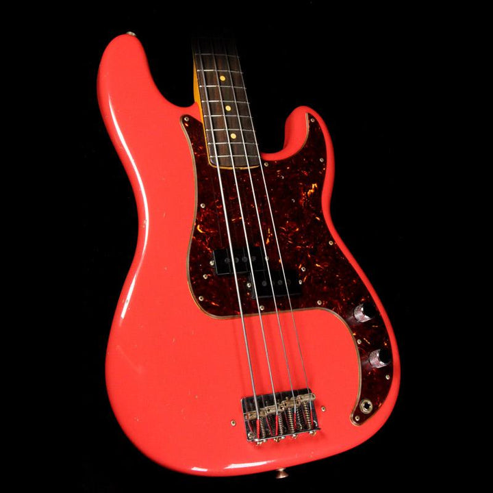 Fender Custom Shop Pino Palladino Signature Precision Bass Fiesta Red R93162