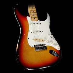 Used 1973 Fender Stratocaster Electric Guitar 3 Color Sunburst