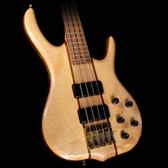 Used 2010 Ken Smith BSR-4MW Electric Bass Guitar Natural