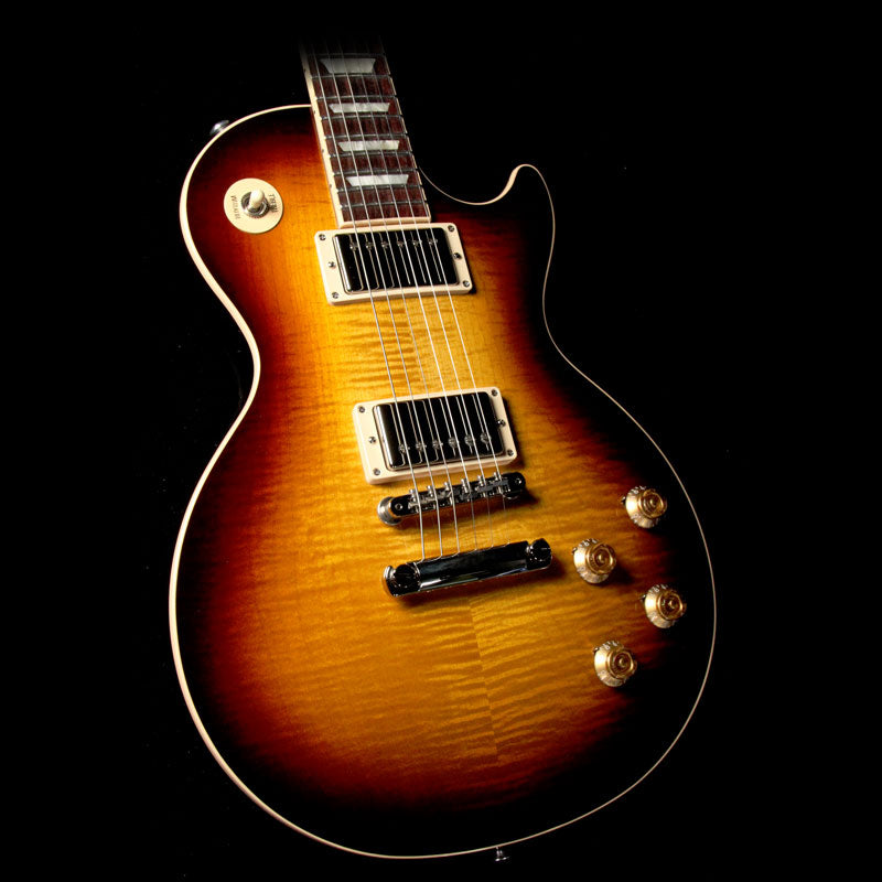 Gibson 2018 Les Paul Traditional Electric Guitar Tobacco Sunburst 180034453