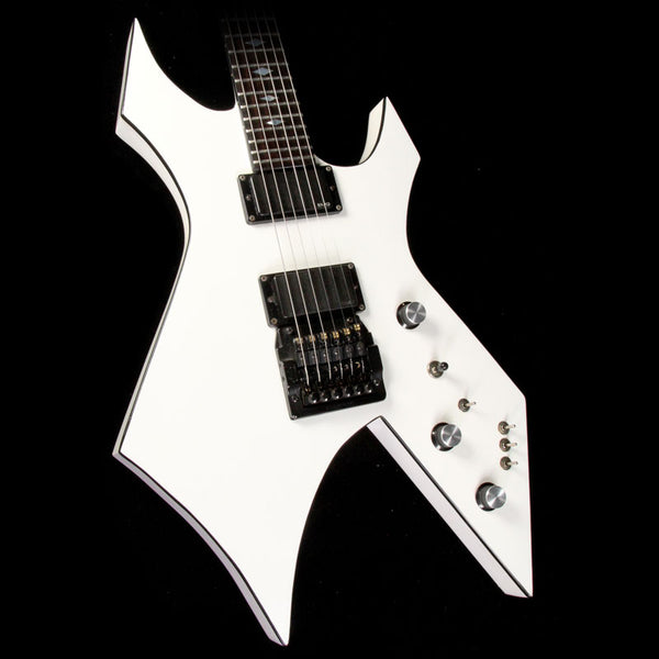 1989 B C Rich Usa Warlock White With Black Binding The